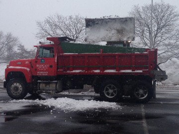 Dump Truck for Snow Hauling